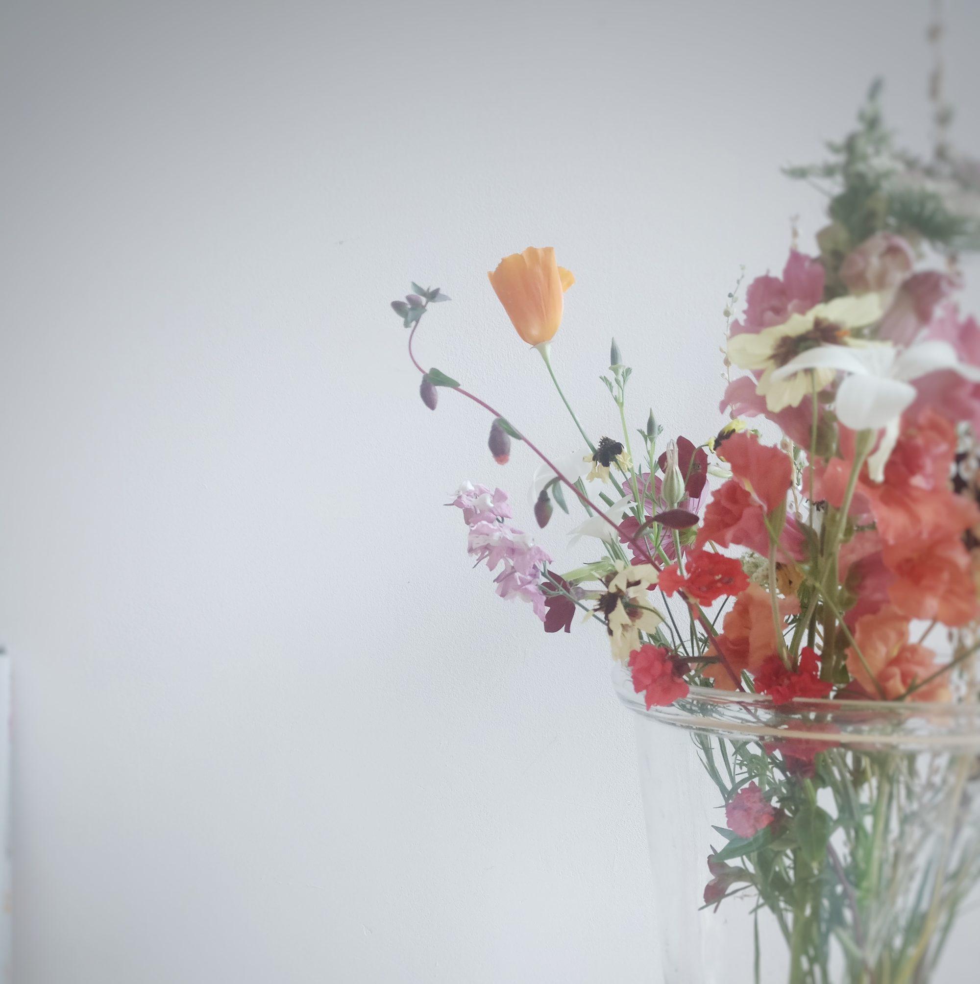 les fleurs sont encore plus belles quand elles sont joliment produites